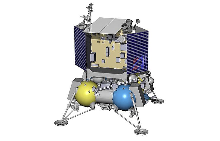"""Макетный проект орбитального зонда """"Луна-глоб"""""""