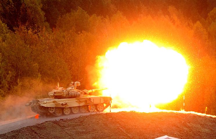 На IX Международной выставке вооружения Russia Arms EXPO, 2013 год