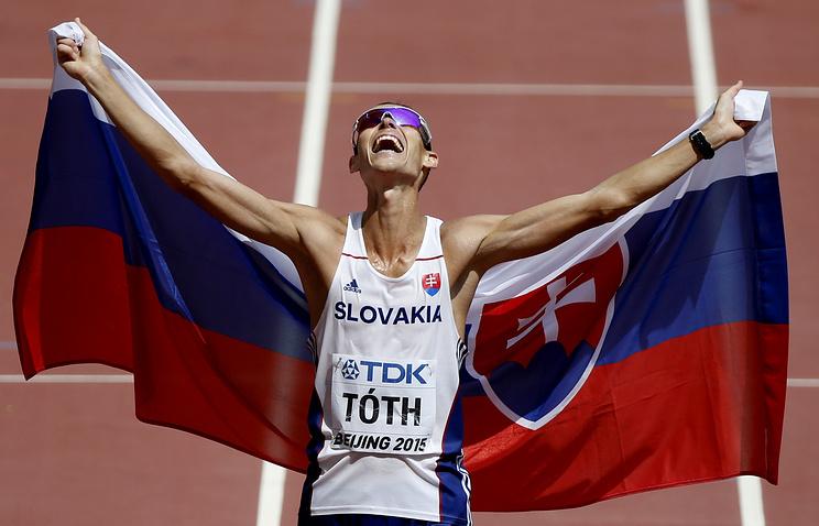 Представитель сборной Словакии Матей Тот