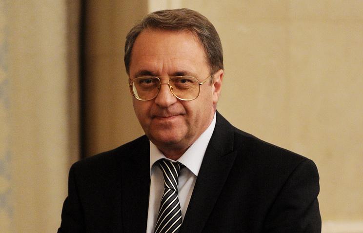 Заместитель министра иностранных дел Михаил Богданов