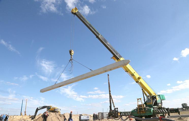 Строительство стадиона ЧМ-2018 в Калиниграде