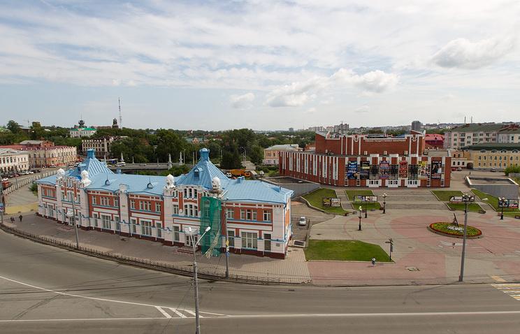 Площадь Ленина, г. Томск