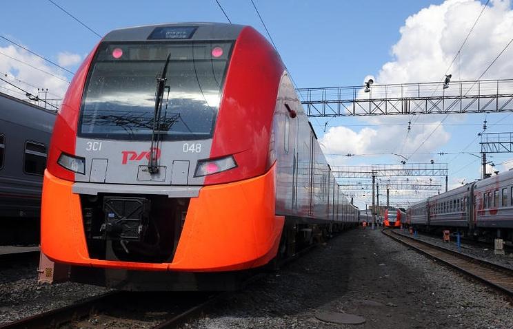 """Скоростной поезд """"Ласточка"""""""