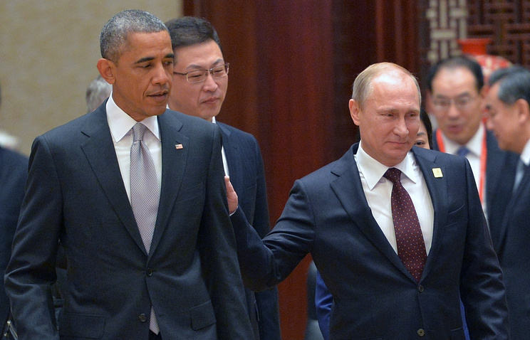 Президент США Барак Обама и президент РФ Владимир Путин. Архив