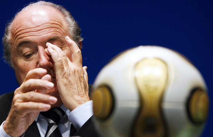 Глава ФИФА Йозеф Блаттер