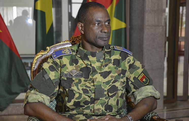Бригадный генерал Жильбер Дьендре