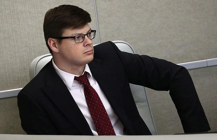 Первый заместитель министра природных ресурсов и экологии РФ Денис Храмов