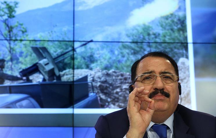 Посол САР в Москве Рияд Хаддад