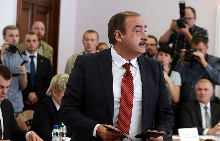 Председатель Либерально-демократической партии, кандидат в президенты Белоруссии Сергей Гайдукевич