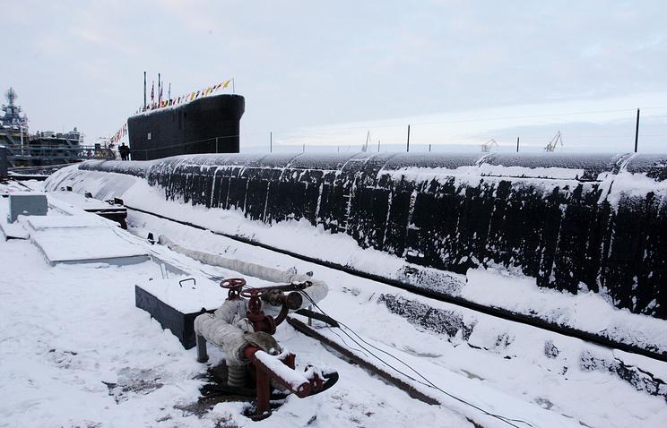 """Атомный подводный ракетный крейсер класса """"Борей"""""""