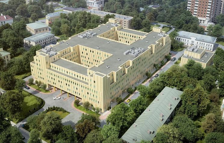 Проект перинатального центра в Щелкове