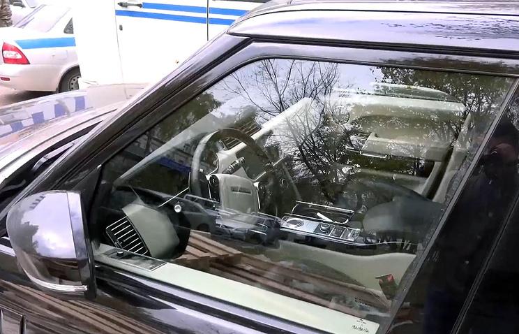 Автомобиль Амирана Георгадзе