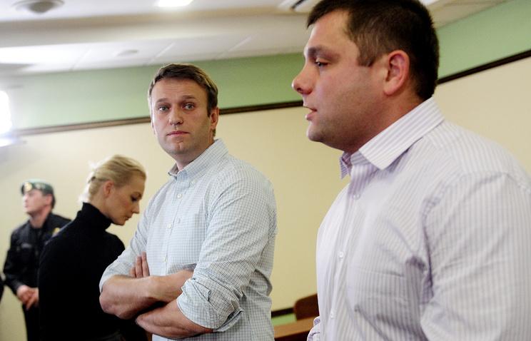 Алексей Навальный и Петр Офицеров