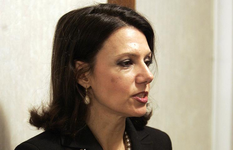 Лидер Демократической партии Сербии Санда Рашкович-Ивич