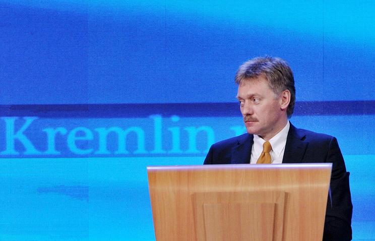 Пресс-секретарь Президента России В.В.Путина Дмитрий Песков