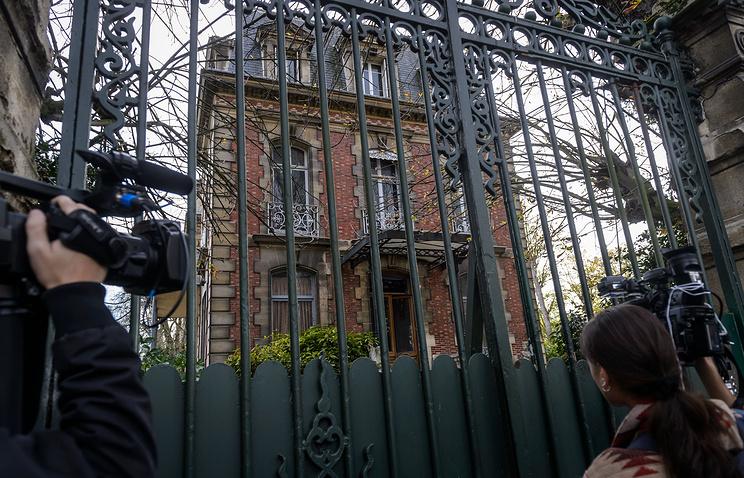 Дом Жан-Мари Ле Пена в пригороде Парижа Сен-Клу