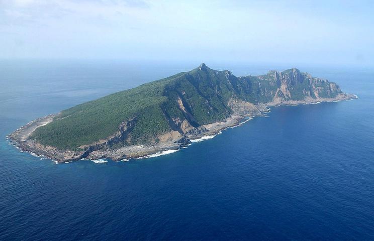 Один из островов архипелага Сенкаку