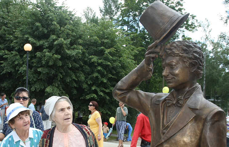 Памятник Георгию Вицину в Зеленогорске