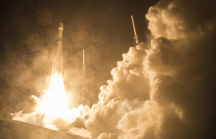 Запуск ракеты-носителя Atlas V