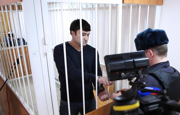 Бывший хирург городской больницы №2 Илья Зелендинов во время заседания в Октябрьском районном суде