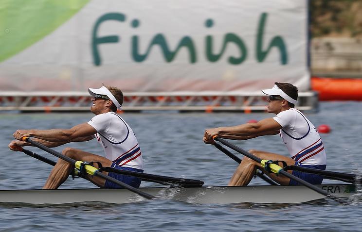 Четверка русских гребцов заняла десятое место вфинале состязаний поакадемической гребле