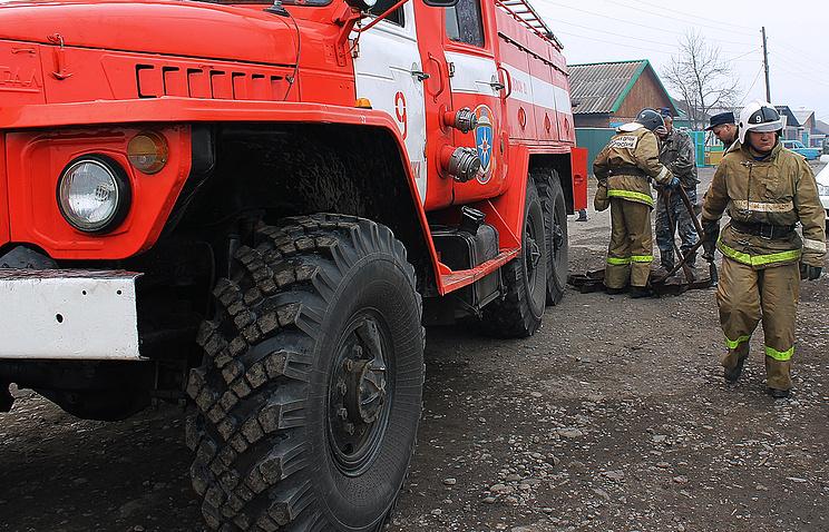 Шесть домов сгорели вдагестанском селе Мокок