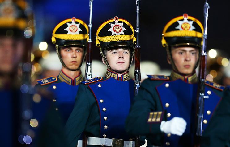 В столице стартует фестиваль военных оркестров «Спасская башня»