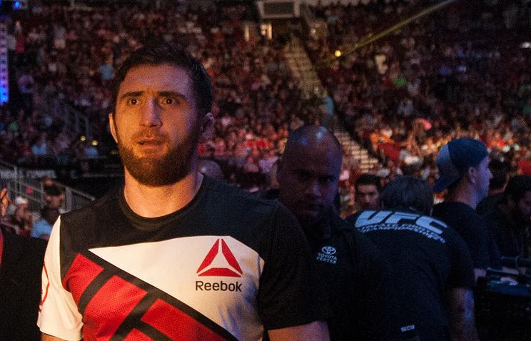 Солдата UFC Магомедова подозревают вупотреблении допинга