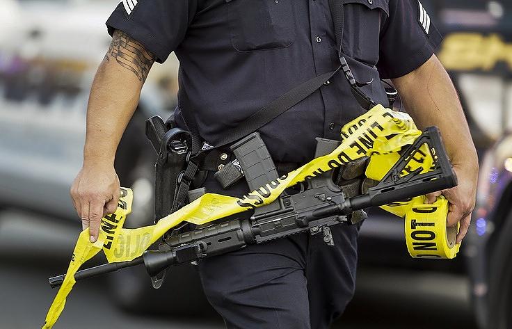 Милиция  ранила афроамериканца вштате Калифорния