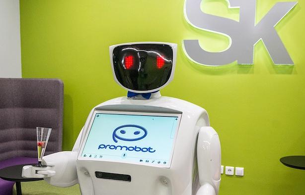 ВСколково создан неповторимый робот схарактером