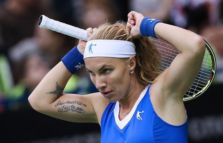 Кузнецова поднялась наседьмую позицию врейтинге WTA