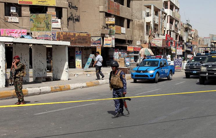 Навостоке столицы Ирака прогремел крупный взрыв