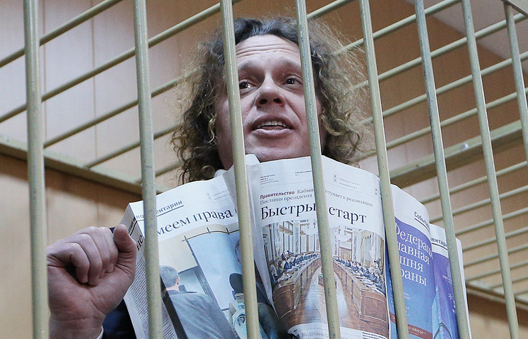 Полонский потребовал отвода судьи, рассматривающего вопрос опродлении ареста