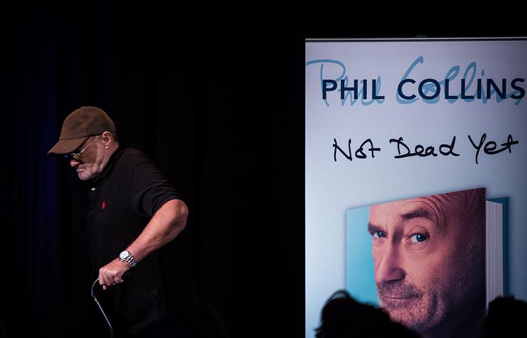 Рок-музыкант Фил Коллинз представит концертный тур «Еще неумер»