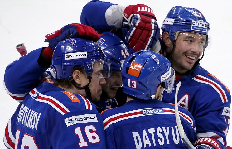 СКА разгромил «Медвешчак» ипродлил победную серию до11 матчей кряду