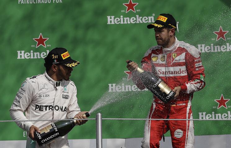 Хэмилтон одержал победу квалификацию Гран-при Мексики Формулы-1