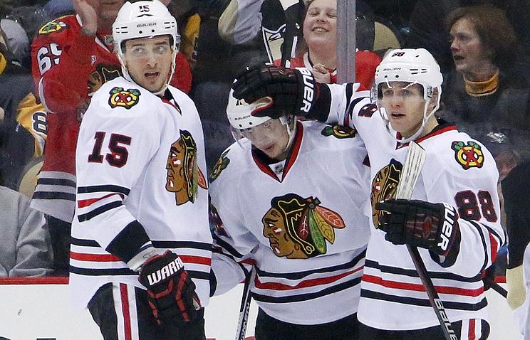 Анисимов единолично возглавил гонку бомбардиров НХЛ