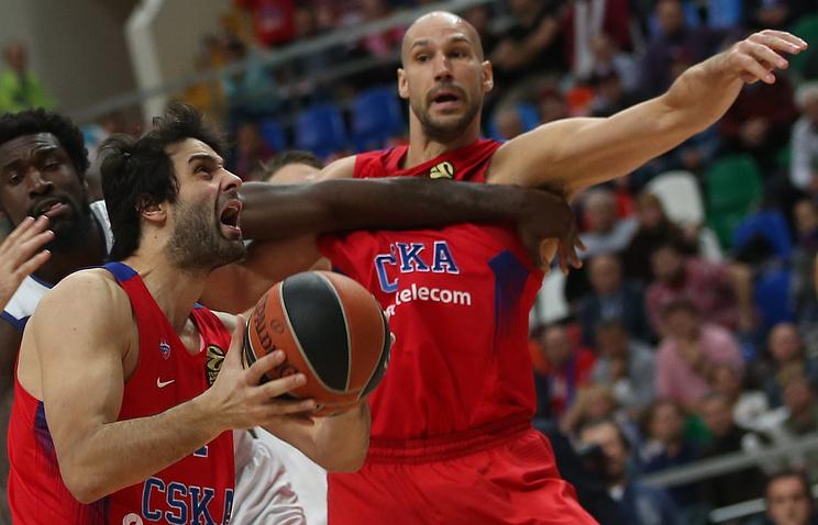 ЦСКА потерпел первое поражение всезоне, проиграв команде Дэвида Блатта