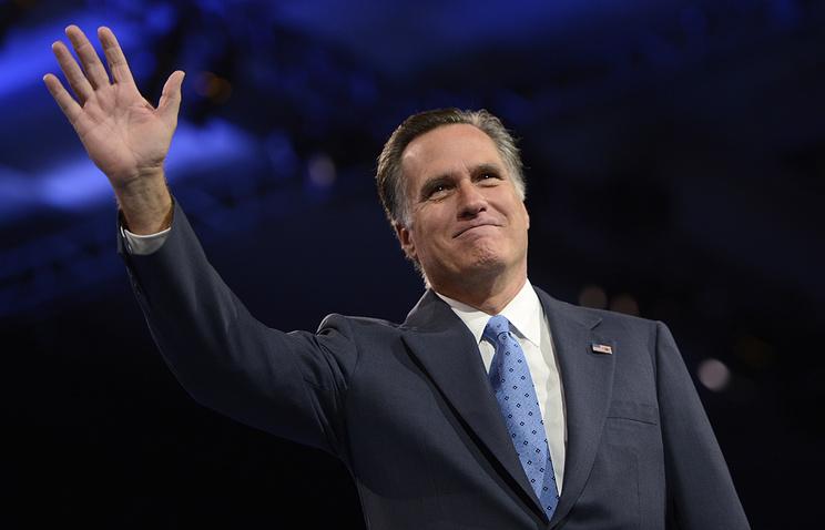 Митт Ромни может стать новым госсекретарем США при Трампе