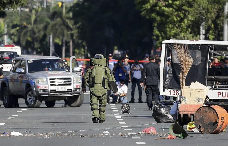 Боевики взорвали личную охрану президента Филиппин Дутерте