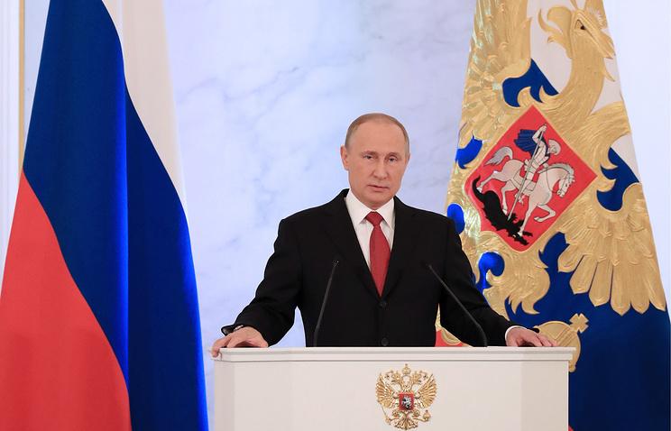 Путин: 2017 год будет годом настройки налоговой системы