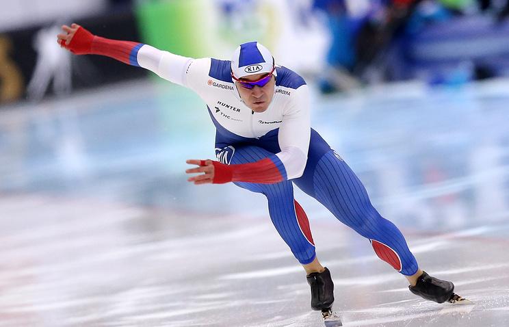 Русский конькобежец Юсков победил наэтапеКМ вАстане