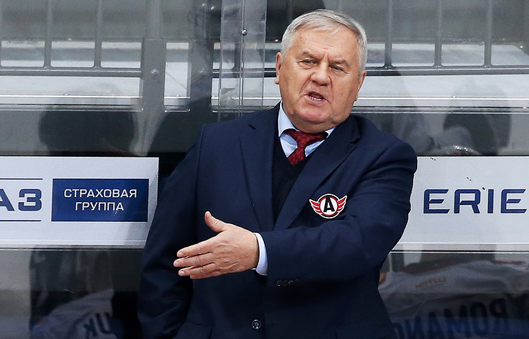 «Автомобилист» продлил договор стренером Владимиром Крикуновым до 2018