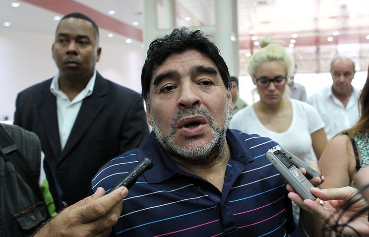 Марадона ведет переговоры с«Наполи»