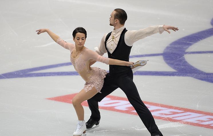 Климов иСтолбова завоевали золото чемпионата РФ пофигурному катанию