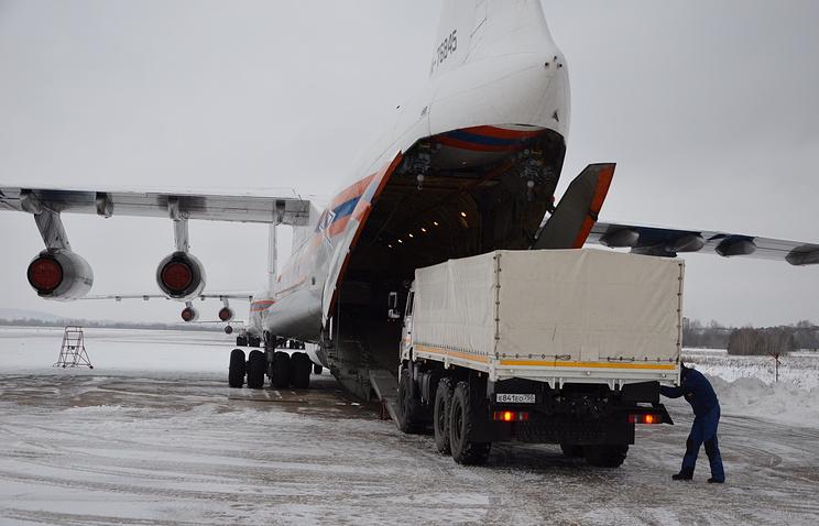 МЧС направило собственных водолазов врайон крушения Ту-154