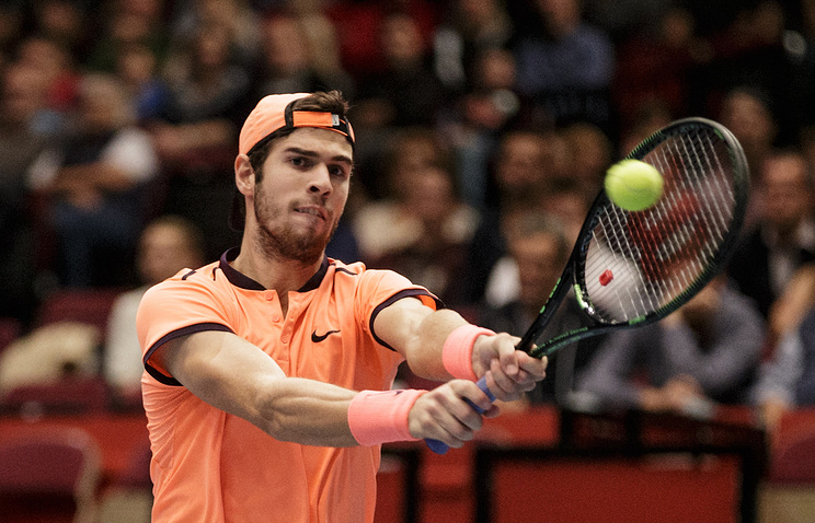 Карен Хачанов вышел во 2-ой круг Australian Open потеннису