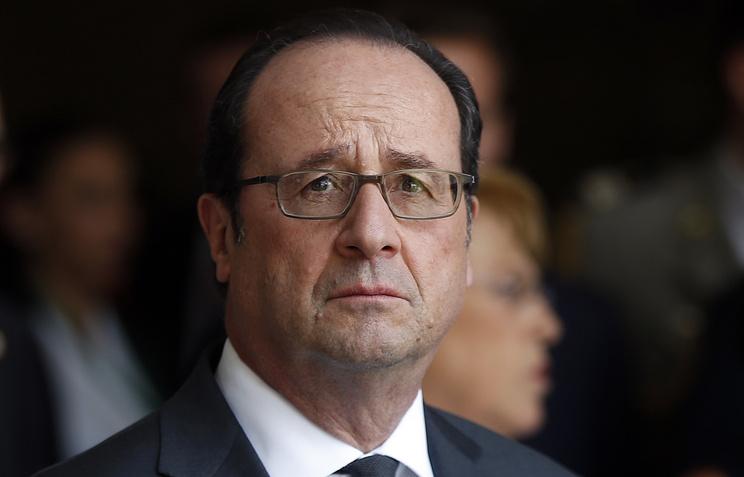 Олланд: антироссийские санкции могут быть сняты после урегулирования вУкраинском государстве
