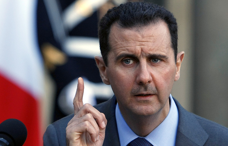 Владимир Путин сыграл феноменальную роль ввосстановлении мира вСирии— Асад