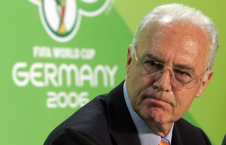 ВШвейцарии расследуют крупную выплату ФИФА Беккенбауэру